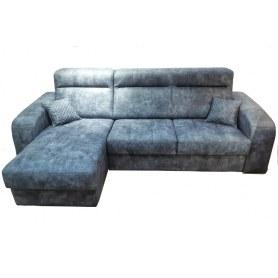 Угловой диван Брабус с оттоманкой