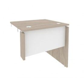 Стол-приставка O.SPR-0.7R, Дуб Аттик/Белый
