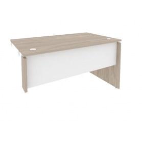 Стол-приставка O.SPR-3.8R, Дуб Аттик/Белый