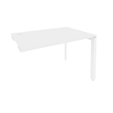 Стол приставка O.MP-SPR-2.8 Белый/Белый бриллиант