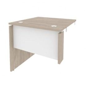Стол-приставка O.SPR-0.8L, Дуб Аттик/Белый