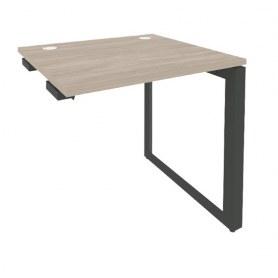 Стол приставка O.MO-SPR-1.7 Антрацит/Дуб Аттик