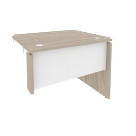 Стол-приставка O.SPR-1.8R, Дуб Аттик/Белый