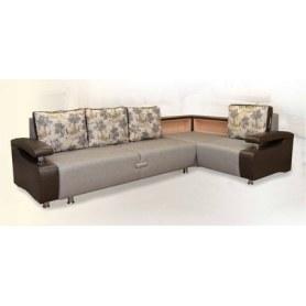 Угловой диван  Престиж-15 люкс с полкой