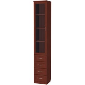 Шкаф 205 с ящиками, цвет Итальянский Орех