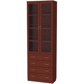 Шкаф 204 с ящиками, цвет Итальянский Орех