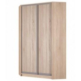 Угловой шкаф-купе Аларти (YA-230х1250(602) (2) Вар. 2; двери D6+D6), без зеркала