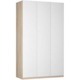 Шкаф Реал распашной (Push to open; R-198х135х60-1-PO), без зеркала