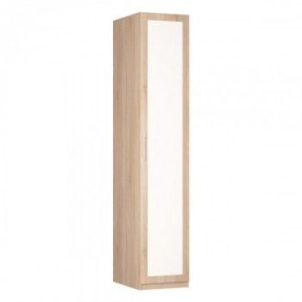 Шкаф Реал одностворчатый (R-230х45х60-1-М), с зеркалом