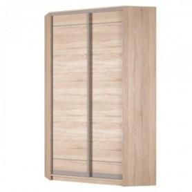 Угловой шкаф-купе Аларти (YA-230х1250(602) (8) Вар. 5; двери D1+D1), без зеркала