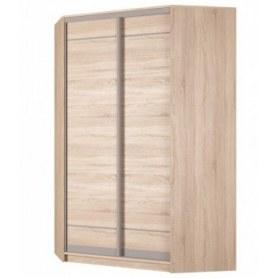 Угловой шкаф-купе Аларти (YA-230х1400(602) (10) Вар. 3; двери D1+D1), без зеркала