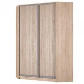 Угловой шкаф-купе Аларти (YA-198х1250 (602) (6) Вар. 1; двери D6+D6), без зеркала