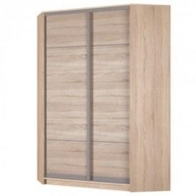 Угловой шкаф-купе Аларти (YA-198х1250 (602) (6) Вар. 4; двери D4+D4), без зеркала