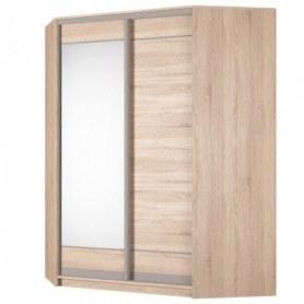 Угловой шкаф-купе Аларти (YA-198х1400 (602) (12) Вар. 3), с зеркалом