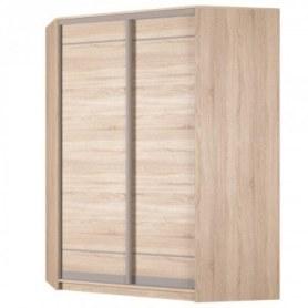 Угловой шкаф-купе Аларти (YA-198х1400 (602) (8) Вар. 4), без зеркала