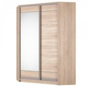 Угловой шкаф-купе Аларти (YA-198х1250 (602) (6) Вар. 1), с зеркалом