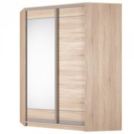 Угловой шкаф-купе Аларти (YA-198х1400 (602) (8) Вар. 5), с зеркалом