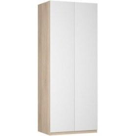Шкаф двустворчатый Реал (Push to open; R-230х90х45-2-PO), без зеркала