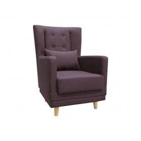 Кресло Клементина, темпо 6 фиолетовый