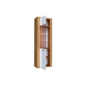 Шкаф одностворчатый Лакоста, ЛД 673.020, дуб золотой/серый