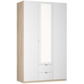 Шкаф Реал распашной (R-198х135х60-2-TR-М), с зеркалом