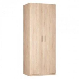 Шкаф Реал двустворчатый (R-230х90х60-1), без зеркала