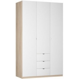 Шкаф Реал распашной (R-198х135х60-3-TR), без зеркала