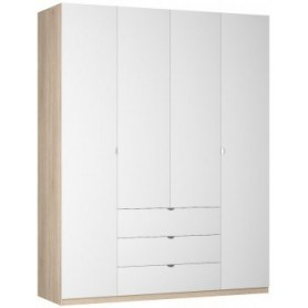 Шкаф Реал распашной (R-198х180х60-3-TR), без зеркала