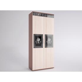 Шкаф Лотта 2 EVO (Ясень Шимо светлый/темный)