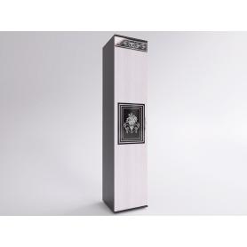 Шкаф-пенал Лотта 3 EVO (Венге/Дуб беленый)