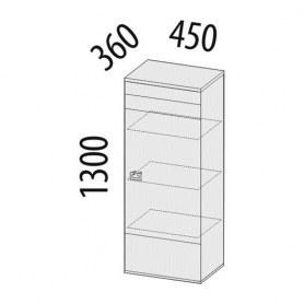 Шкаф малый правый 34.08 Соренто 450х360х1300