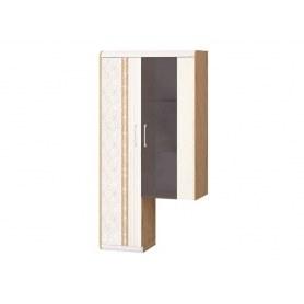 Шкаф-витрина Адель двухдверный левый 65.09