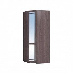 Шкаф угловой Sherlock 10+ фасад Зеркало, Ясень Анкор темный