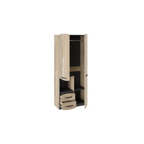 Детский шкаф комбинированный Кристофер ТД-328.07.26 (Фон Серый/Олд Стайл)