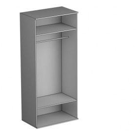 Шкаф двухстворчатый Gloss, (G-ШО-02 к, Выбеленный дуб)