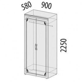 Версаль 99.11 Шкаф двухдверный 900х580х2250