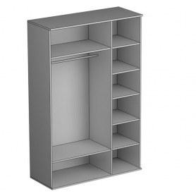 Шкаф трехстворчатый Gloss, фасад экокожа (G-ШО-03 к, Венге)