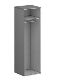 Шкаф для одежды Gloss, 1 зеркало, (G-ШО-01 зр, Дуб Шамони)
