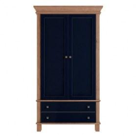 Шкаф двухстворчатый Jules Verne, (JV27ETGYB), синий