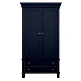 Шкаф двухстворчатый Jules Verne, (JV27ETGB), синий