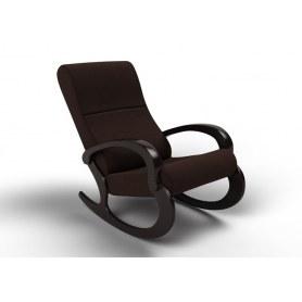 Кресло-качалка Гарда, ткань шоколад