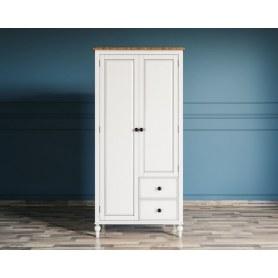 Шкаф двустворчатый Odri с двумя ящиками (od2127S)