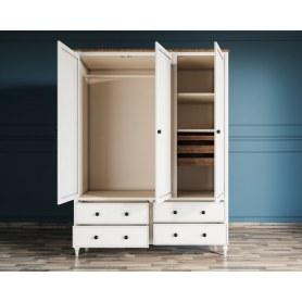 Шкаф трехстворчатый Odri с ящиками (od2127KR3)