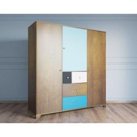 Шкаф трехстворчатый Aquarelle (RE-46)