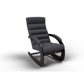 Кресло-качалка Ното, ткань графит