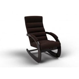 Кресло-качалка Ното, ткань шоколад