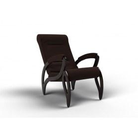 Кресло Зельден, ткань шоколад
