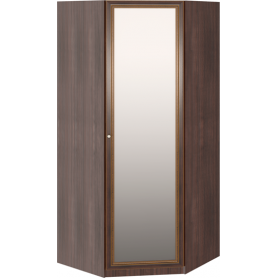 Угловой шкаф Беатрис М01 (Орех Гепланкт)