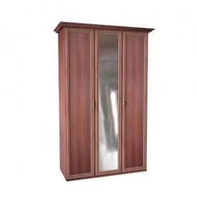 Шкаф 3-створчатый м18 Равенна, цвет ноче луиза
