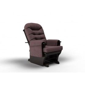 Кресло-качалка Венеция маятниковая, ткань кофе с молоком